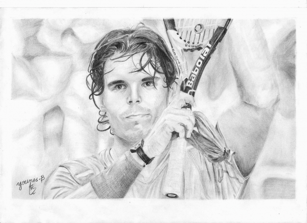 Rafael Nadal by Yanis_dessin